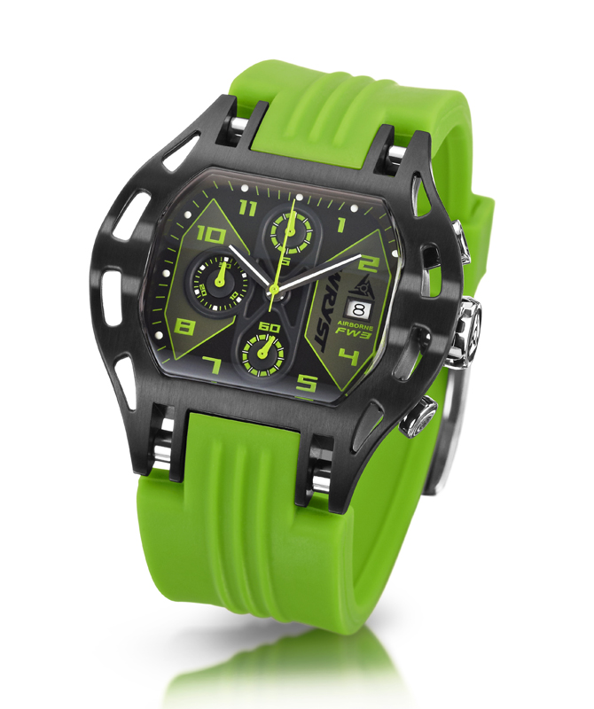 Green Swiss Sports Watches