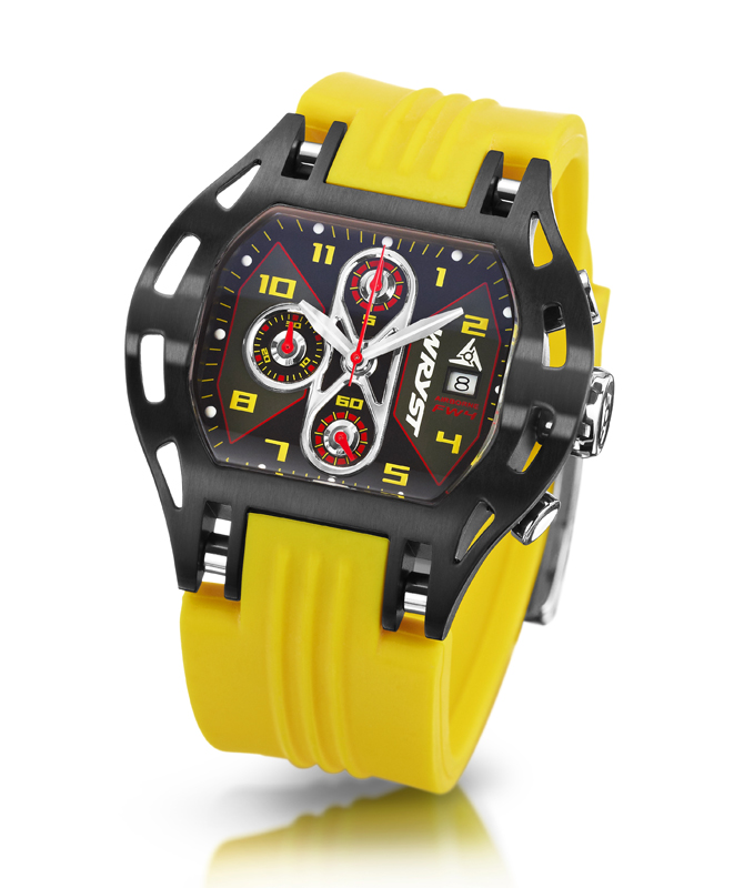 Yellow Swiss Sports Watches
