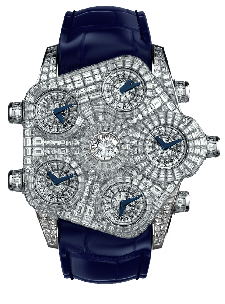 One Million Dollar Watch Jacob & Co Grand Baguette