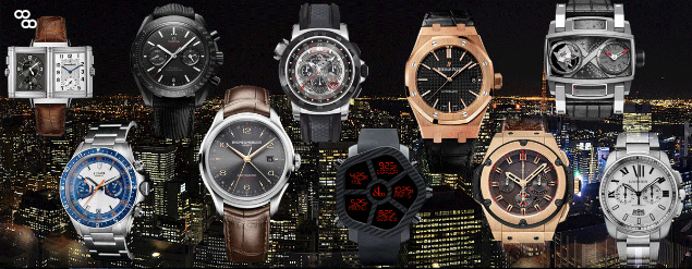 Top 10 watches to wear from day to night in 2013 Top 10 unique watches