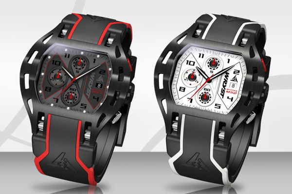 Motorsport Inspired Black Swiss Watch