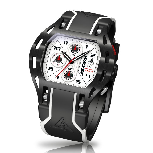 Black and White Wryst MS2 Watch for Men