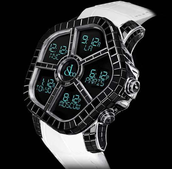 Jacob and Co Ghost Full Baguette Black Diamonds