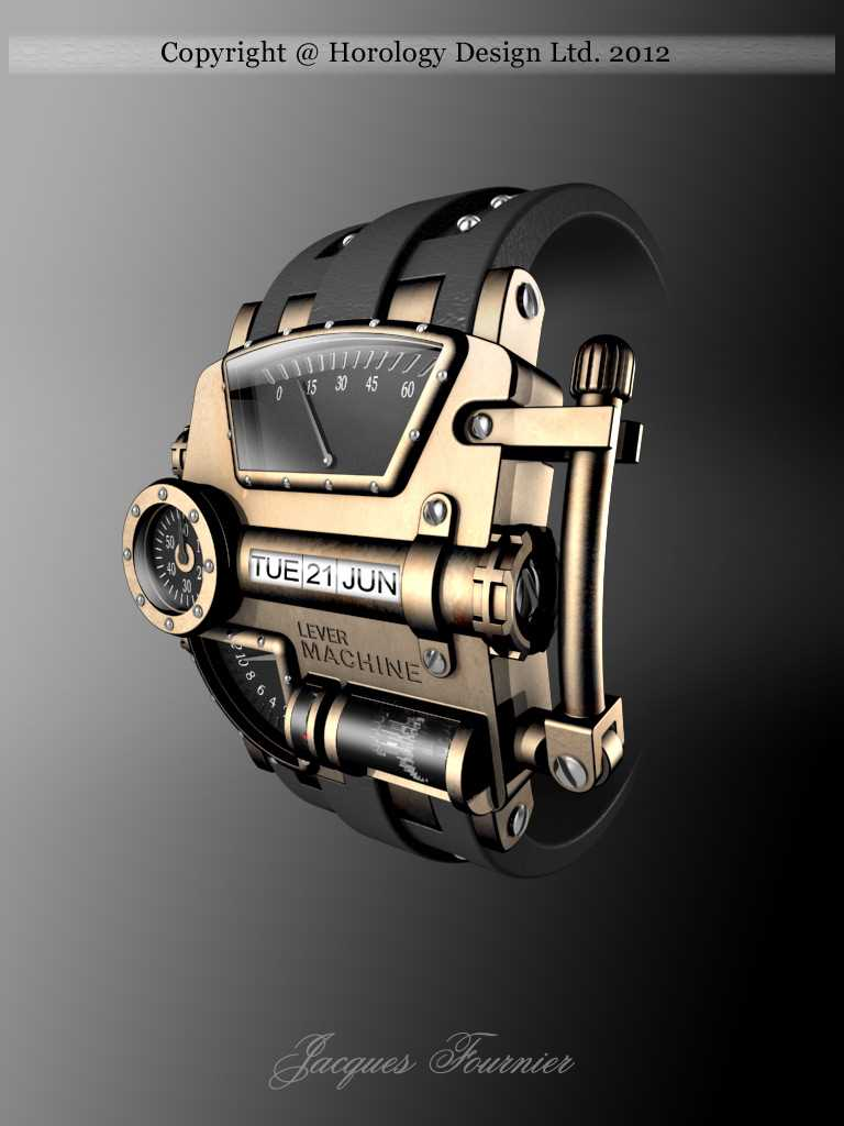 Steampunk Concept Watch Design