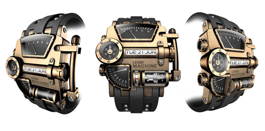 Steampunk Watch Design