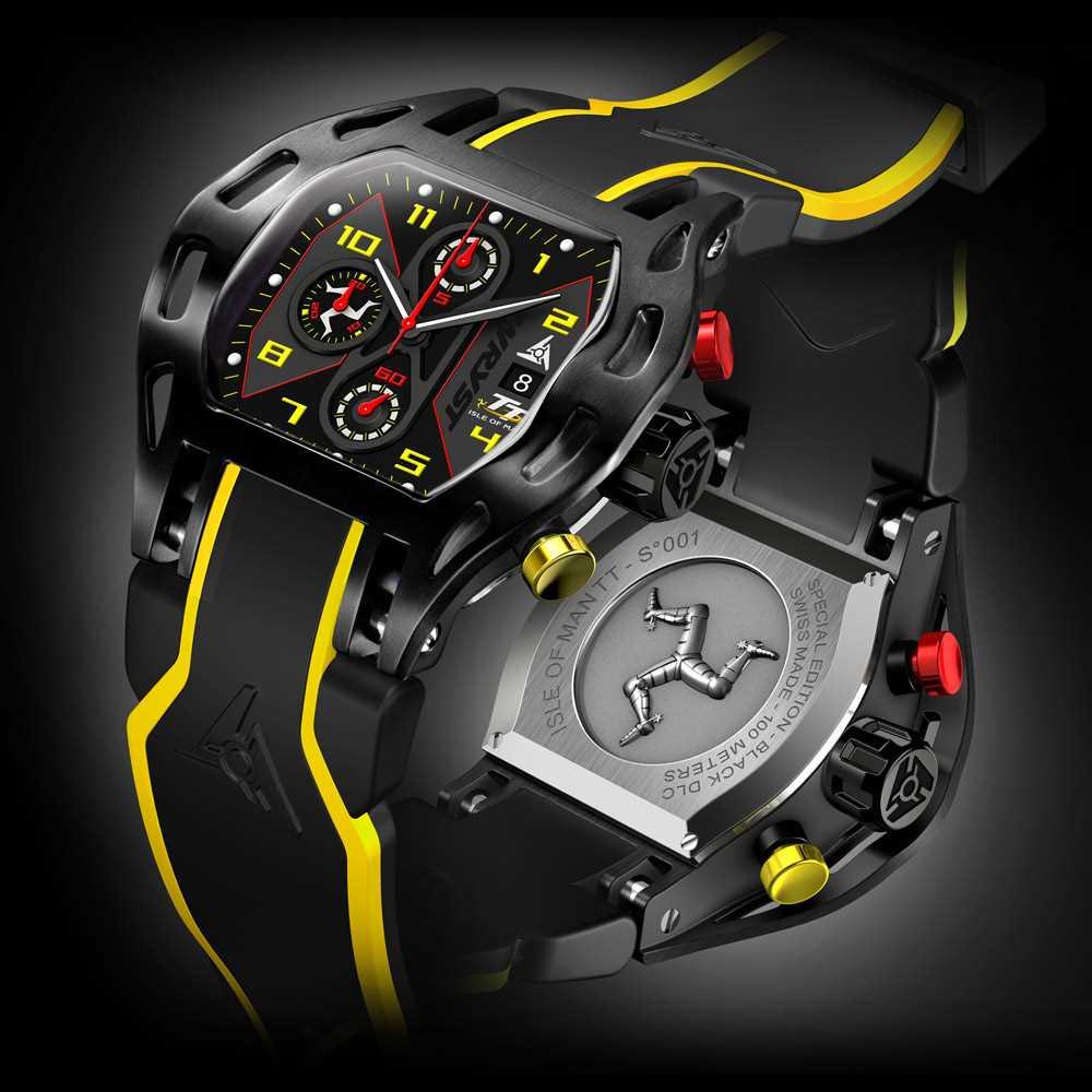 Wryst Isle Of Man TT 2016 Special Edition Swiss Sport Watch